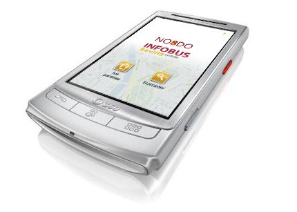 INFOBUS Sevilla Mobile: Vodafone H1 con portada
